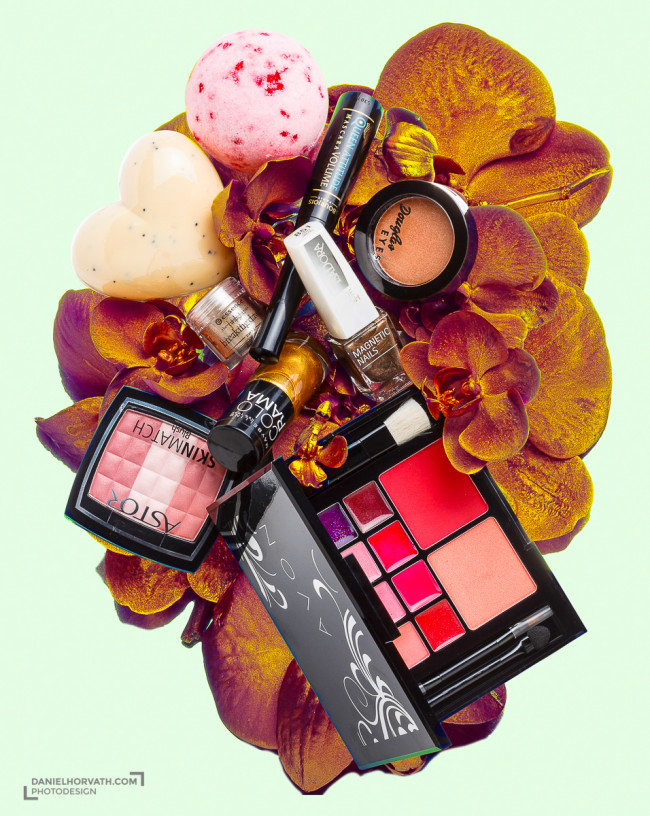 Beauty Cosmetics Creative Photo Illustration, beauté, cosmetics, objects, perfume, still life