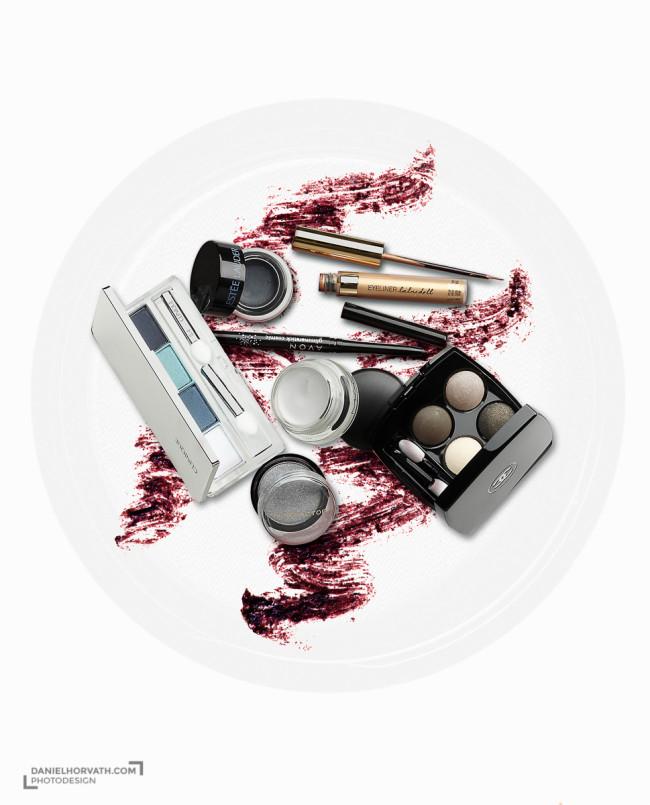 Beauty Cosmetics Creative Photo Illustration