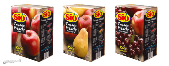 Fruits, Packaging, Sió
