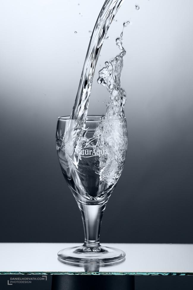Glass, Naturaqua, Splash, Water