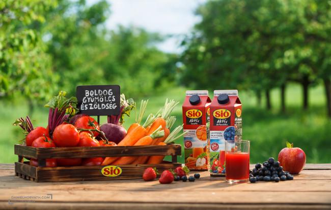 Fruits, Packaging, Sió, forgatáson, gyúmölcs
