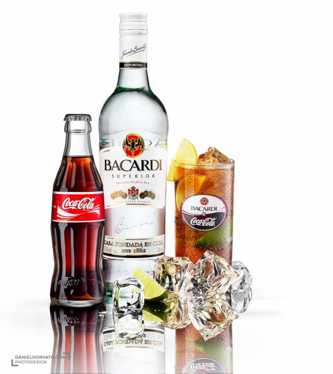 Bacardi, Coctails, Fruits, Liquids