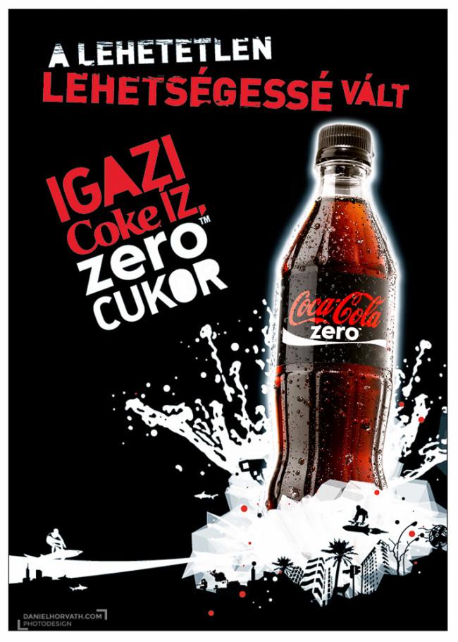 Campaign, Coke Zero