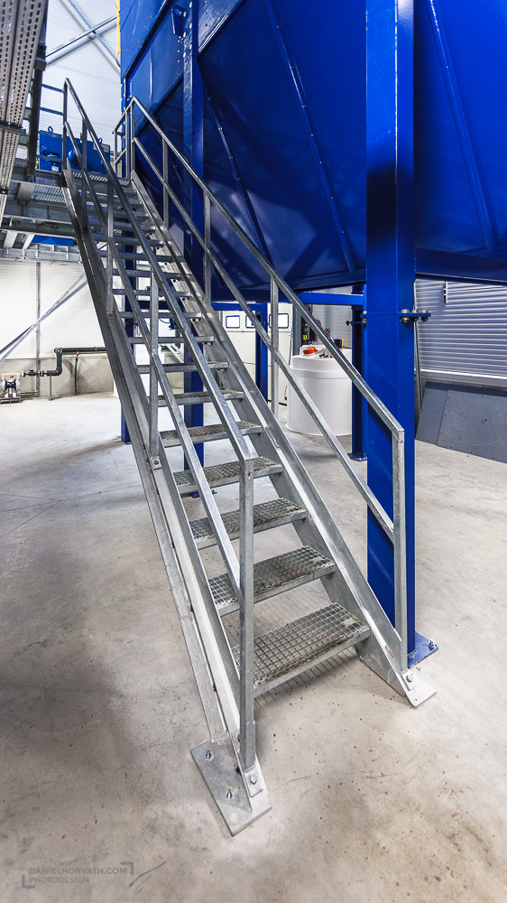 Galvaniser, Industrial, Nagév, stairs
