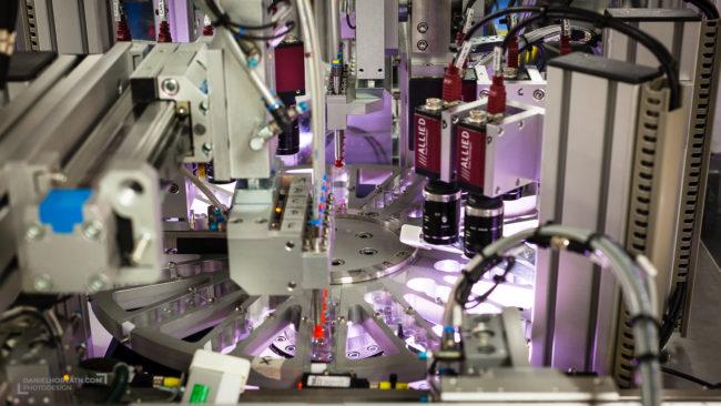 Contact lens factory, Industrial, Sauflon, Spink
