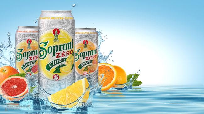 Beer, Billboard, Fruits, Liquids, Splash