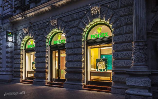 Rolex, Shop