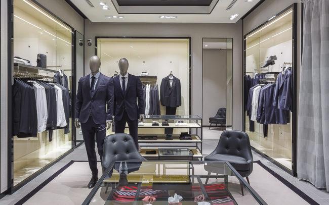 hugo_boss_budapest Interiors