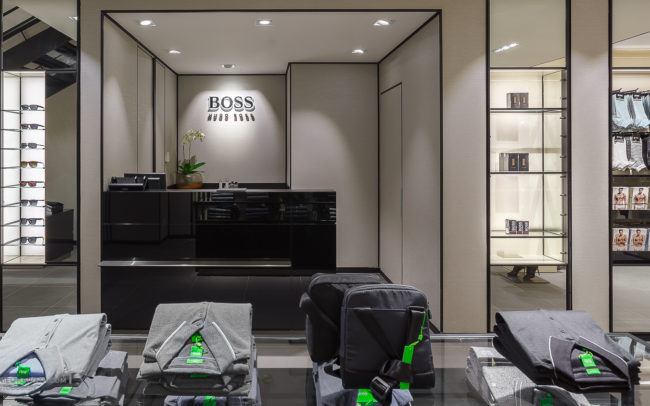 Boss, Hugo_Boss_Budapest, Interiors